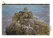 Seagull Island On Cefalu In Sicily  Carry-all Pouch