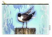 Seagull - Laughing Gull Pop Art  Carry-all Pouch