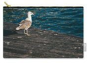 Seagull On The Pier Carry-all Pouch