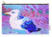 Cool And Colorful Gull Carry-all Pouch