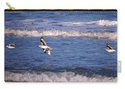 Seagulls Above The Seashore Carry-all Pouch