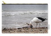 Seagulls Catch Of The Day Carry-all Pouch