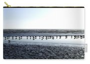 Seagulls On A Sandbar Carry-all Pouch