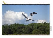 Seagulls Over Marsh Carry-all Pouch