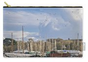 Seagulls Over Mylor Creek Boatyard Carry-all Pouch