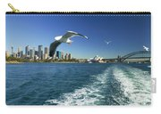 Seagulls Over Sydney Harbor Carry-all Pouch
