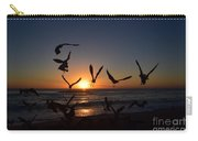 Seagulls Silhouettes Carry-all Pouch