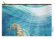 Seahorse Blues Carry-all Pouch