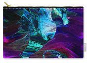 Seahorse In A Lightning Storm Carry-all Pouch