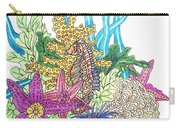 Seahorse Sanctuary  Carry-all Pouch