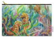 Seahorses Three Carry-all Pouch