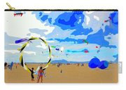Seal Beach Kite Fly Carry-all Pouch