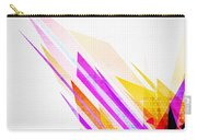 Seamless Honeycomb Pattern Carry-all Pouch