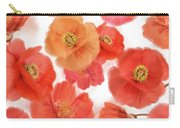Seamless   Pattern Of Watercolor Poppy Flowers Carry-all Pouch