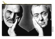Sean Connery And Michael Caine Carry-all Pouch