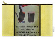 Seans Bar Guinness Pub Sign Athlone Ireland Carry-all Pouch