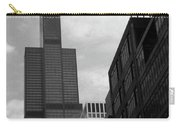 Sears Tower B-w Carry-all Pouch
