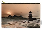 Seascape  A Frozen Morning Carry-all Pouch