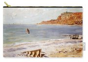 Seascape At Sainte Adresse  Carry-all Pouch