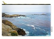 Seascape From Point Lobos State Reserve Near Monterey-california  Carry-all Pouch