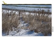 Seascape In Winter Carry-all Pouch
