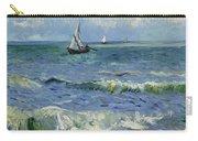 Seascape Near Les Saintes Maries De La Mer Arles June 1888 Vincent Van Gogh 1853  1890 Carry-all Pouch