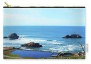 Seascape San Francisco Sutro Bath Pacific Ocean Shore Carry-all Pouch