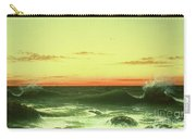 Seascape Sunset 1861 Carry-all Pouch