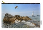 Seascape With A Yacht Carry-all Pouch