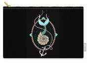 Seashell Mermaid Carry-all Pouch