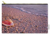 Seashell On The Beach, Lovers Key State Carry-all Pouch