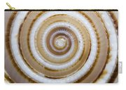 Seashell Spirals Carry-all Pouch