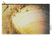 Seashells And Beach Colours Carry-all Pouch