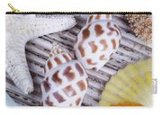Seashells And Starfish Carry-all Pouch