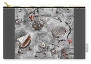 Seashells Collage Of Any Color Carry-all Pouch