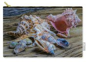 Seashells On The Dock Carry-all Pouch