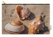 Seashells On The Sand Carry-all Pouch