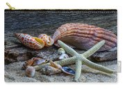 Seashells And Driftwood Carry-all Pouch