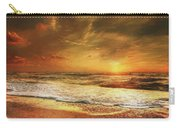 Seashore Sunset Carry-all Pouch