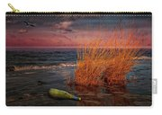 Seaside Bottle At Sunset Carry-all Pouch