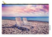 Seaside Chairs Carry-all Pouch