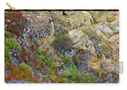 Seaside Cliff Garden In Point Lobos State Reserve Near Monterey-california  Carry-all Pouch