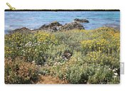 Seaside Flowers Carry-all Pouch