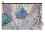 Seaside Rocks And Garnet Sand Carry-all Pouch