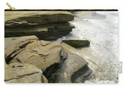 Seaside With Rocks On Left Carry-all Pouch