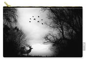Seasons End Deer Geese Carry-all Pouch