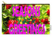 Seasons Greetings 10 Carry-all Pouch
