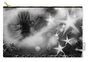 Seasons Greetings Bw Carry-all Pouch