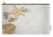 Seastar And Shells Carry-all Pouch by Joana Kruse
