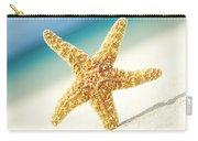 Seastar On Beach Carry-all Pouch